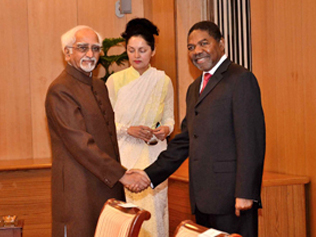 Official visit of President of Zanzibar to India