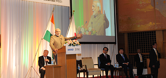 Prime Minister ​delivers keynote address at seminar hosted by JETRO and NIKKEI in Tokyo, Japan