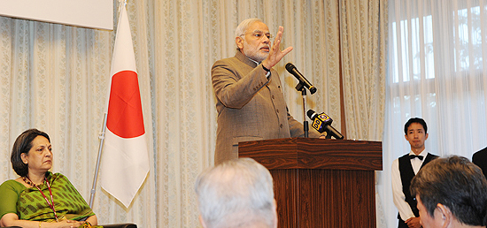 Prime Minister delivers ​keynote address at event hosted by Japan-Indian Association and Japan-India Parliamentary Friendship League in Tokyo, Japan ​