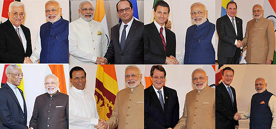 Prime Minister meets world leaders on the sidelines of 70th session of UNGA in New York