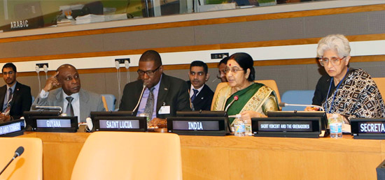 External Affairs Minister attending India-CARICOM Foreign Minister's meeting in New York