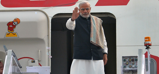 Prime Minister departs for France to attend COP-21 Summit​
