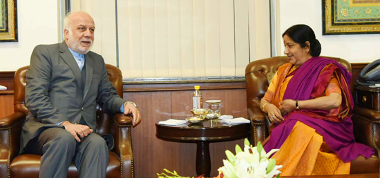 External Affairs meets Deputy Foreign Minister Ebrahim Rahimpour of Iran in New Delhi