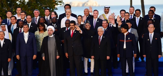 Group Photograph at the 17th NAM Summit in Margarita, Venezuela