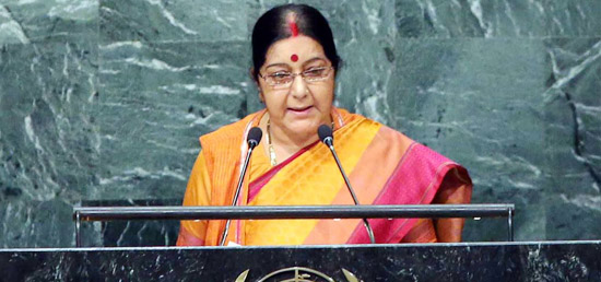 External Affairs Minister delivers Speech at 71st UNGA at New York