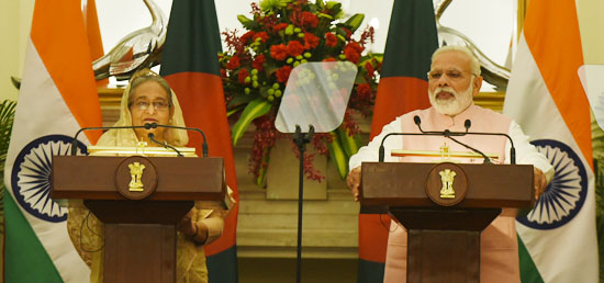 ''India has always stood for the prosperity of Bangladesh and its people. We are a long-standing and trusted development partner of Bangladesh'' - Prime Minister