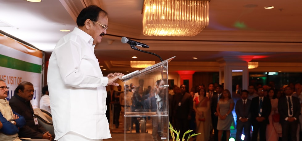 Vice President addresses Indian Community during his visit to Panama