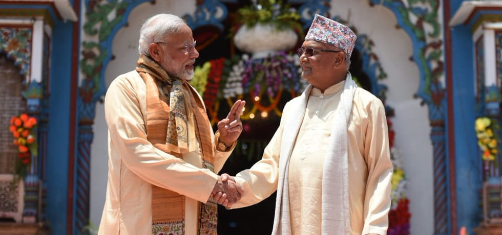 Prime Minister visits Janaki temple during his visit to Nepal