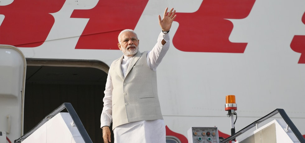 Prime Minister departs for Sochi on his 1-day Russia visit