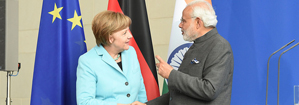 Visit of the Chancellor of the Federal Republic of Germany to India