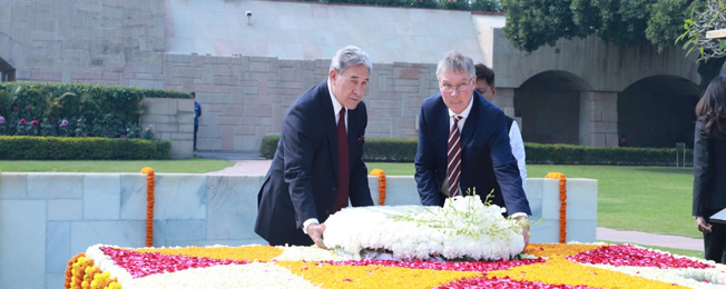 Visit of Winston Peters, Deputy Prime Minister and Minister of Foreign Affairs of New Zealand to India (February 25-28, 2020)